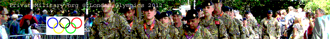 British Army - Securing London Olympics 2012